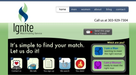 Search engine optimized matchmaking website gets better results